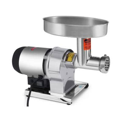 Butcher Series #12 0.75 HP Electric Meat Grinder with Sausage Stuffing Kit