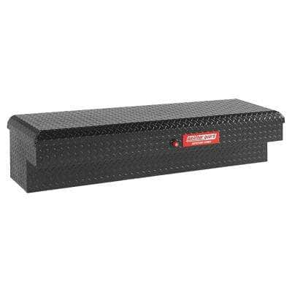 Defender Matte Black Aluminum Lo-Side Truck Box (58 in. x 15 in. x 13 in.)