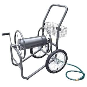 300 ft. 2-Wheel Industrial Hose Cart