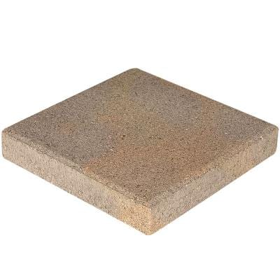 12 in. x 12 in. x 1.5 in. 3-Tone Brown Square Concrete Step Stone (168-Pieces/168 sq. ft./Pallet)