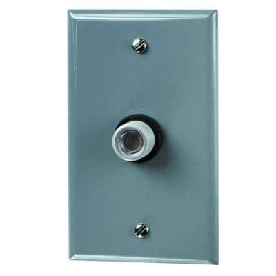 K4000 Series 1800-Watt Fluorescent/Incandescent Wall Mount Dusk to Dawn Light Control, Gray