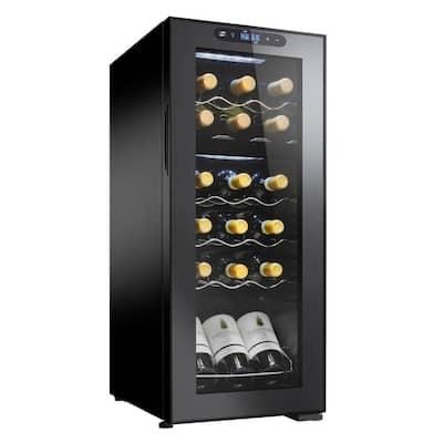18 Bottle Dual Zone MAX 13.75 in. wide Wine Cellar 18 Bottle Dual Zone 13.75 in. MAX Wine Cellar