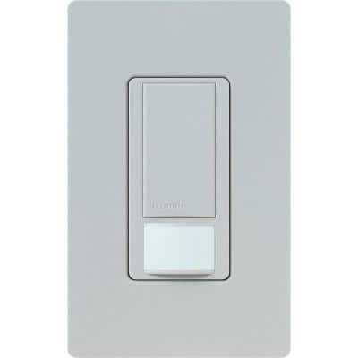Maestro Dual Voltage Vacancy Sensor switch, 6-Amp, Single-Pole, Taupe