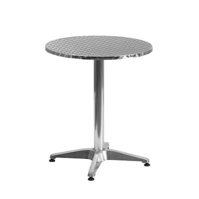 Aluminum Round Metal Outdoor Bistro Table