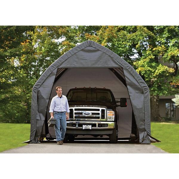 12 Ft H Alpine Style Garage In A Box, Shelterlogic Garage In A Box