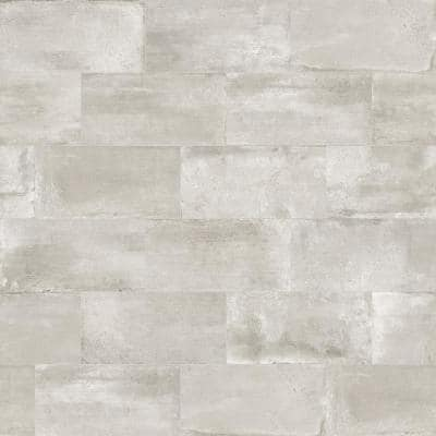 Euro Ice Greige 12 in. x 24 in. Porcelain Floor and Wall Tile (14.42 sq. ft. / case)