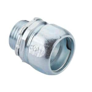 1/2 in. Rigid Compression Connector (2-Pack)