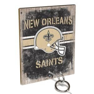 NFL - New Orleans Saints Hook and Ring Toss Game