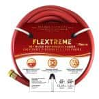 Flextreme 5/8 in. Dia x 50 ft. Red Performance Rubber Garden Hose