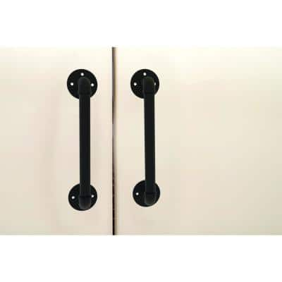 Pipeline Collection 8 in. Center-to-Center Door Pull in Brushed Bronze