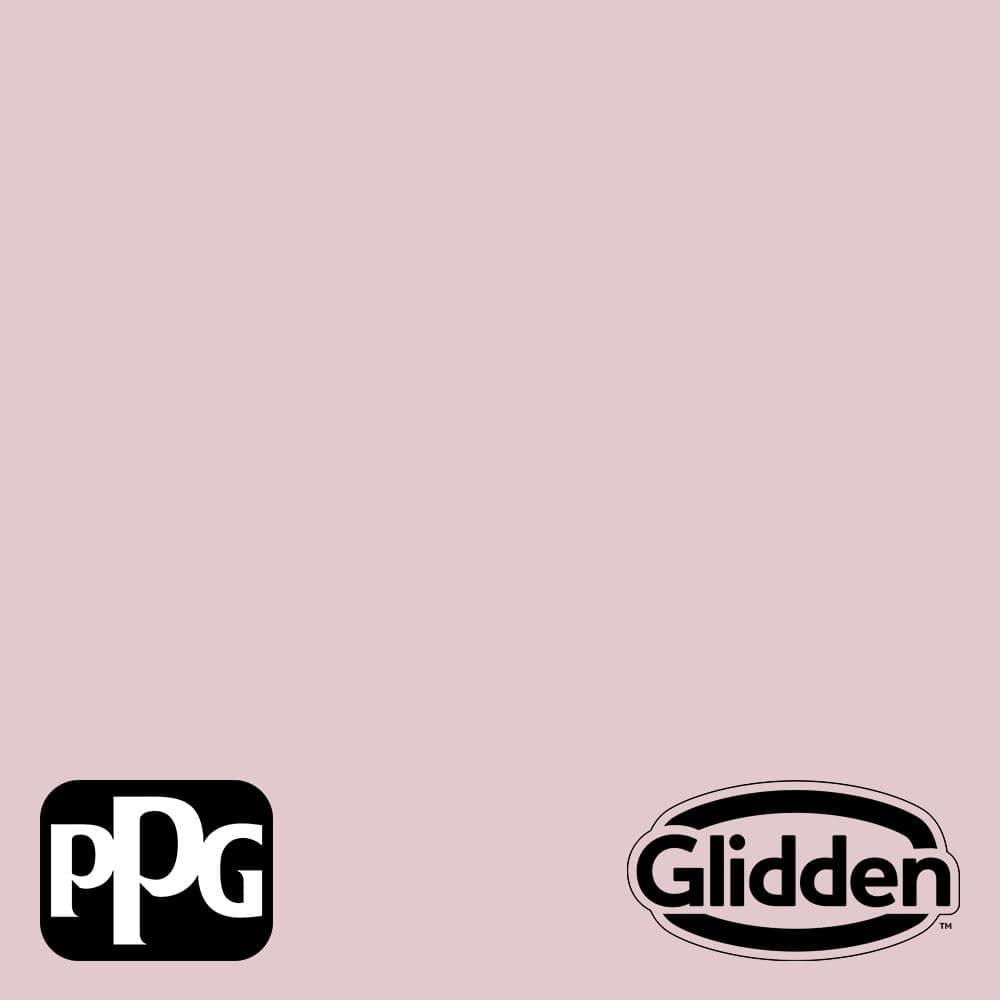 Glidden Premium 1 Gal Rose Cloud Ppg1048 3 Satin Interior Latex Paint Ppg1048 3p 01sa The Home Depot