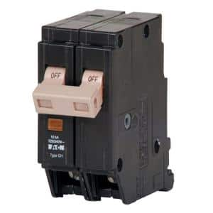 CH 15 Amp 2-Pole Circuit Breaker with Trip Flag