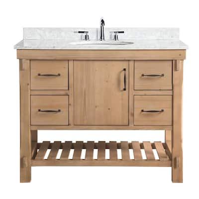 Farmhouse Bathroom Vanities Bath The Home Depot