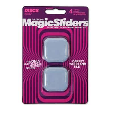 1-3/4 in. Square Sliders (4-Pack)