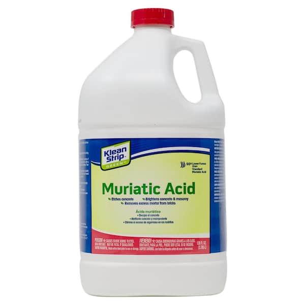 Klean Strip Green 1 Gal Green Muriatic Acid Gkgm75006 The Home Depot
