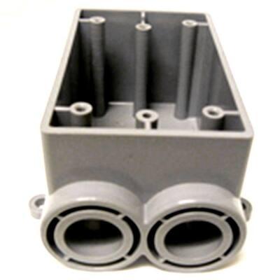 1-Gang FSS Electrical Box - Gray