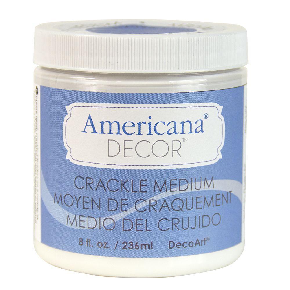 8 oz. Americana Decor Crackle Medium