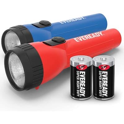General Purpose LED Flashlight (2-Pack)