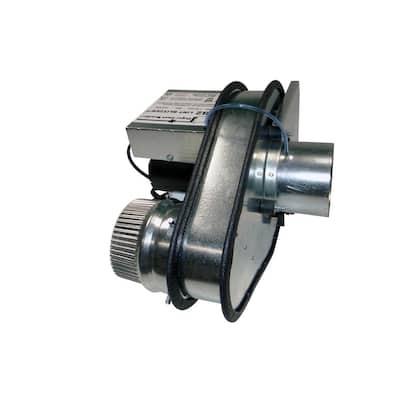 4 in. Dryer Exhaust Duct Power Ventilator Fan
