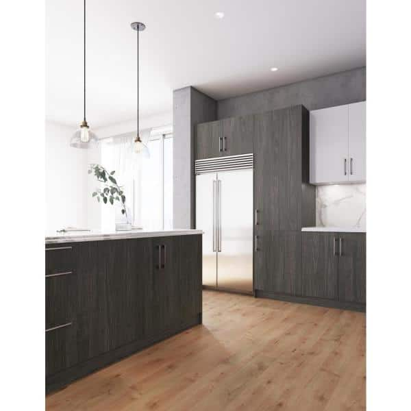 Cambridge Standard 36 In X 48 In X 1 In Island Cabinet Decorative End Panel In Carbon Marine Sa Backpanel Cm The Home Depot