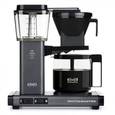 KBG 10-Cup Stone Grey Drip Coffee Maker