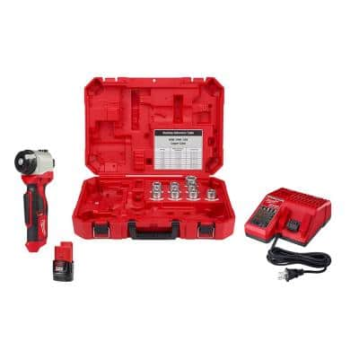 M12 12-Volt Lithium-Ion Cordless Cable Stripper Kit for Cu RHW/RHH/USE Wire