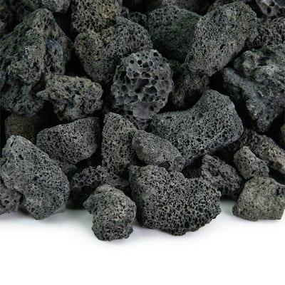 10 lbs. Black Lava Rock 3/4 in.