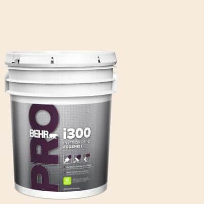 5 gal. #RD-W15 Cotton Sheets Eggshell Interior Paint