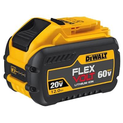 FLEXVOLT 20-Volt/60-Volt MAX Lithium-Ion 12.0Ah Battery