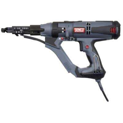 DuraSpin 3 in. 120-Volt 2500 RPM Auto-Feed Screw Gun with 2 Bits and Storage Bag