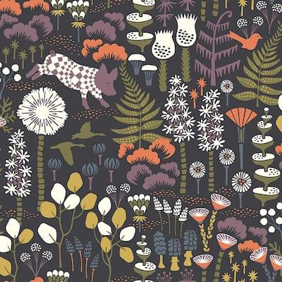 Hoppet Folk Multicolor Scandinavian Multicolor Paper Strippable Roll (Covers 57.8 sq. ft.)