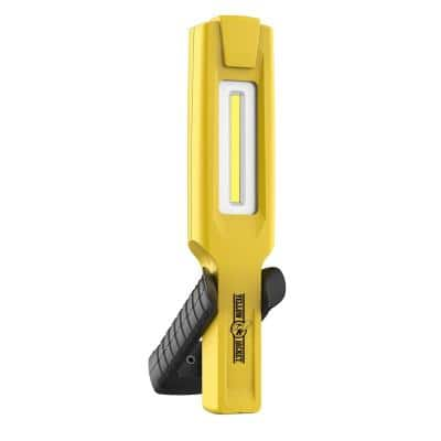 600 Lumens Rechargeable Handheld Light, Yellow