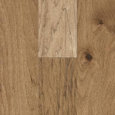 Time Honored Hickory Saddle 3/8 in. T x 6 in. W x Vary Length Engineered Click Hardwood Flooring (30.63 sq. ft./case)