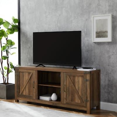 Doors Tv Stands Living Room, Tv Stands With Cabinet Doors