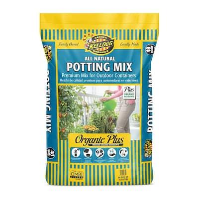 40 Qt. All Natural Premium Outdoor Potting Mix