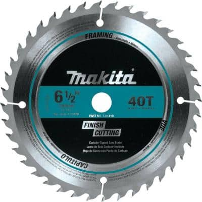6-1/2 in. 40T Carbide-Tipped Circular Saw Blade