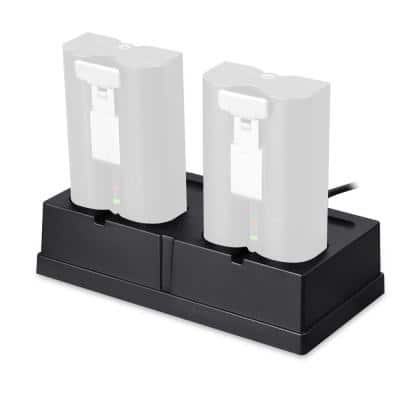 Charging Station for the Rechargeable Batteries for Ring Spotlight Cam Battery, Video Doorbell, Stick Up Cam Battery