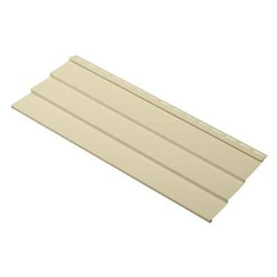 Take Home Sample Progressions Double 5 in. x 24 in. Vinyl Siding in Sunrise Yellow