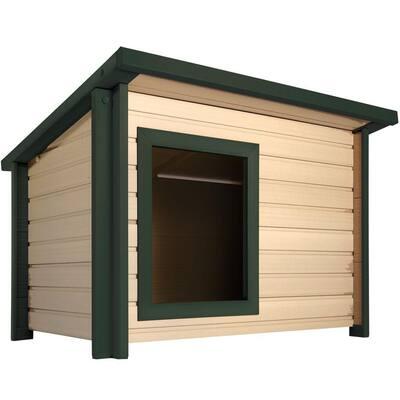 ECOFLEX Lodge Style Dog House - Jumbo