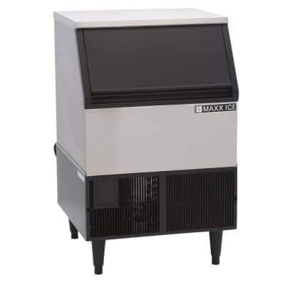 250 lbs. Undercounter, Stainless Steel, Self-Contained Ice Machine, Air Cooled, NSF & UL rated for commercial