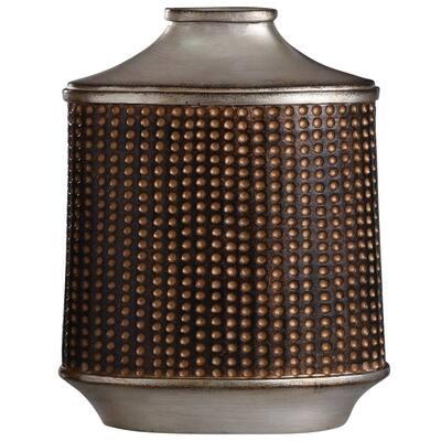 Winthrop Winthrop Bronze, Khashi Silver Metal Vase