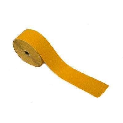 2-3/4 in. Gold PSA Roll 120 Grit Stearated Aluminum Oxide, 25 Meters
