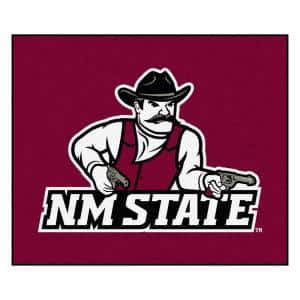 NCAA New Mexico State University Red 5 ft. x 6 ft. Area Rug
