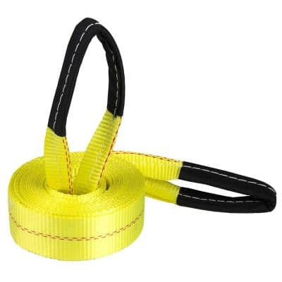 2 in. x 20 ft. Deluxe Recovery/Tow Strap