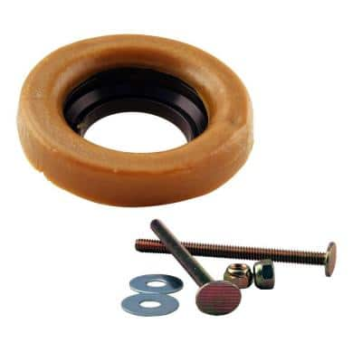 Wax Ring and Bolts for Toilet Bowl