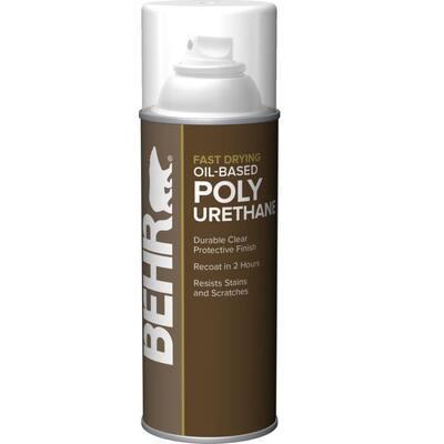 11.5 oz. Matte Clear Oil-Based Interior Fast Drying Polyurethane Sealer Aerosol