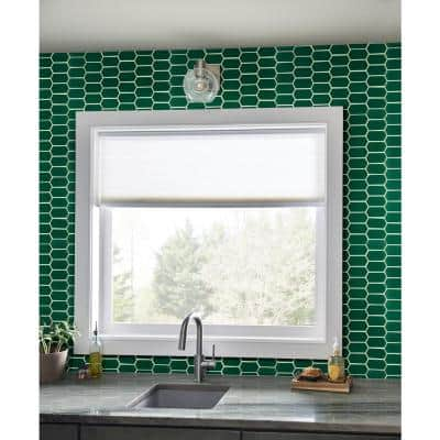 Laurel Picket Textured 12 in. x 10 in. x 8 mm Glass Mesh-Mounted Mosaic Wall Tile (8.3 sq. ft./Case)