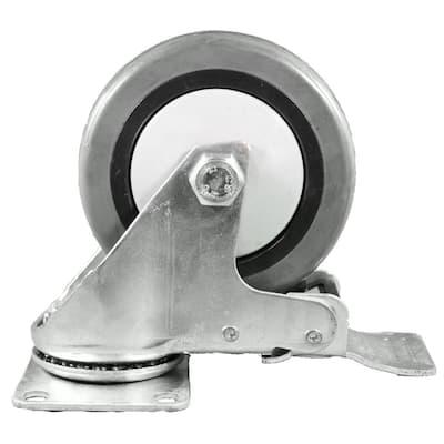 93 lb. Replacement Caster for Evaporative Cooler Models: MFC18000, MC91 (Set of 4)