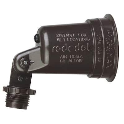 1-Light Weatherproof Lampholder with Gasket - Bronze (Case of 20)
