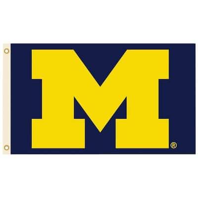 NCAA 3 ft. x 5 ft. Michigan Flag